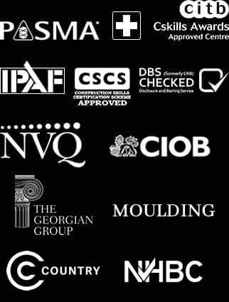 decorators and painters in dorset and hampshire accreditation logos